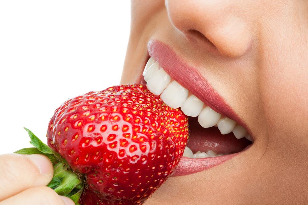Las fresas y la salud dental