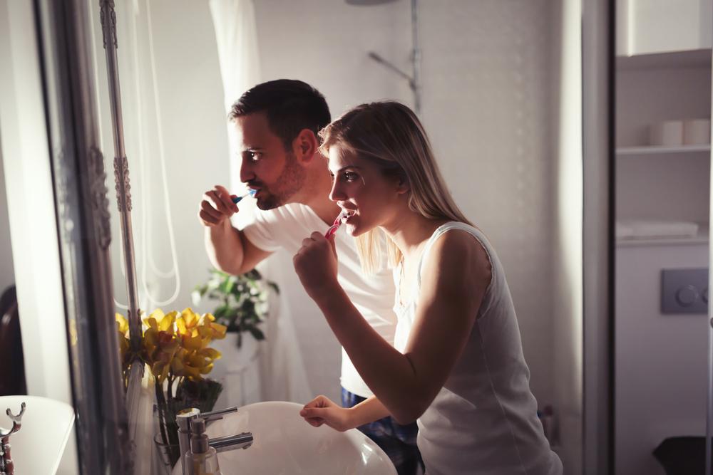 Irse a dormir sin lavarse los dientes
